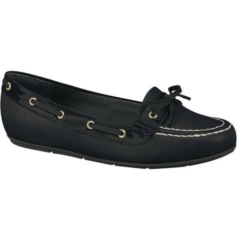 Moleca - black boat shoes - vegan shoes
