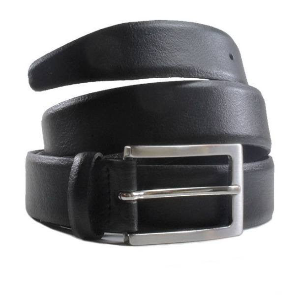 Will's London - vegan belt - 3cm black belt