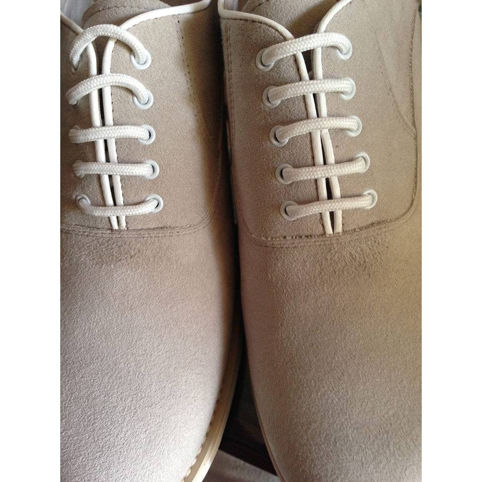 OpificioV - vegan lace-up casual shoes (beige) - Vegan Style