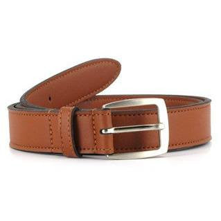 Vegetarian Shoes - 'New City Belt' (tan) - vegan belt - Vegan Style