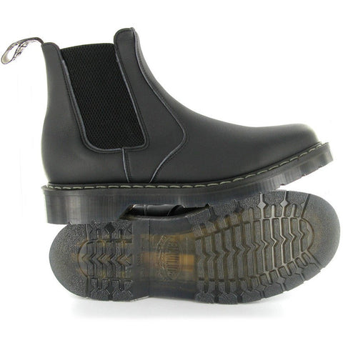 Vegetarian Shoes -. Airseal Chelsea Boot (Black)