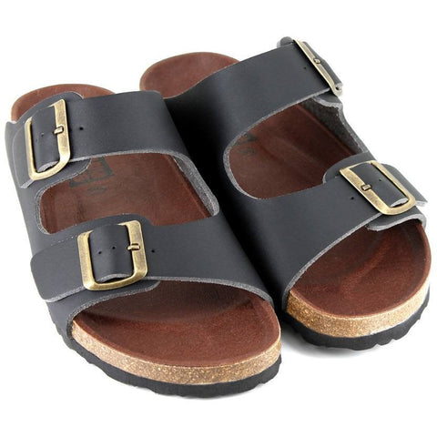Vegetarian Shoes - Beta Sandal (Black)