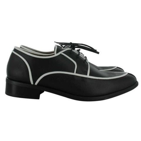 Novacas - women's oxford - 'Rory' (black/white)