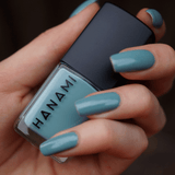 'Still' Light Blue Nail Polish (15ml) by Hanami Cosmetics