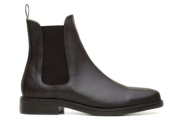 'Dylan' Unisex Chelsea vegan boots by Ahimsa - brown