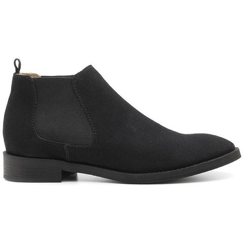 Ahimsa Shoes - vegan Chelsea boot (black) - Vegan Style