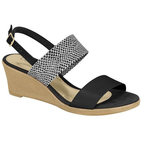 Beira Rio - sandal wedge - vegan friendly shoes