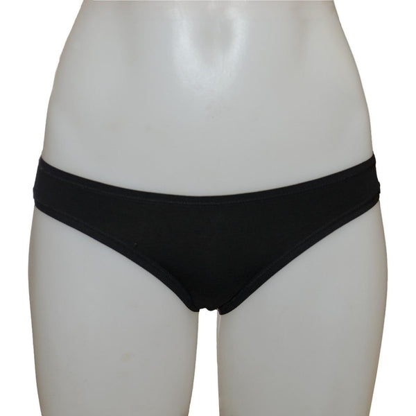 Etiko - Women's fair trade bikini brief (black)
