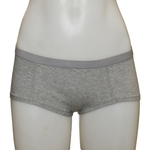 Women's Fair Trade Short Briefs (Grey) by Etiko - Vegan Style