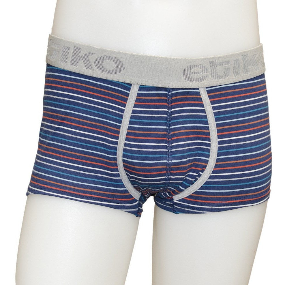 Etiko - Men's fair trade trunks (stripe) - Vegan Style