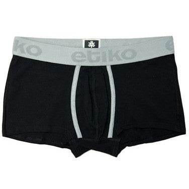 Etiko - Men's fair trade trunks (black)