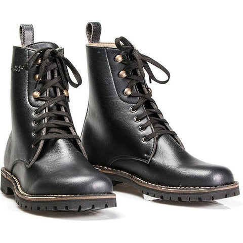 Cammina Leggero - Derby Boot - men's vegan boots (black) - Vegan Style
