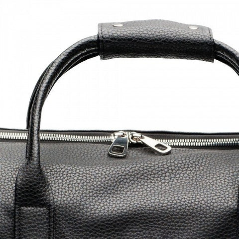 Alexandra K - vegan luxury  Holdall bag XXL - blackberry silver