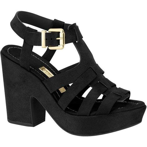 Moleca - vegan-friendly women's heels - black