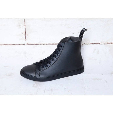 Good Guys don't wear Leather - 'Wack' (black) - Vegan Style