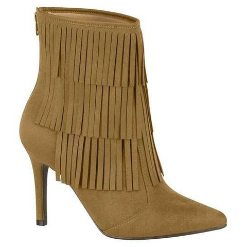 Beira Rio -  tassled boot - vegan-friendly shoes