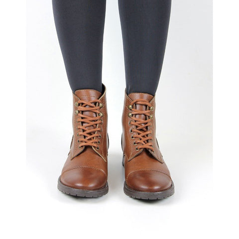 Women's work boots (chestnut) by Will's London