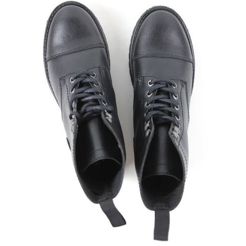 Work boots (black) by Will's London - Vegan Style