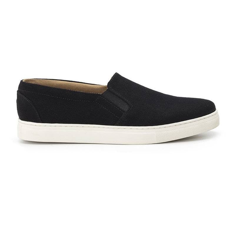 Ahimsa Shoes - slip on (blue)