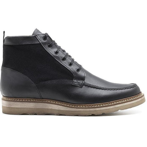 Ahimsa Shoes - vegan derby chukka (black)
