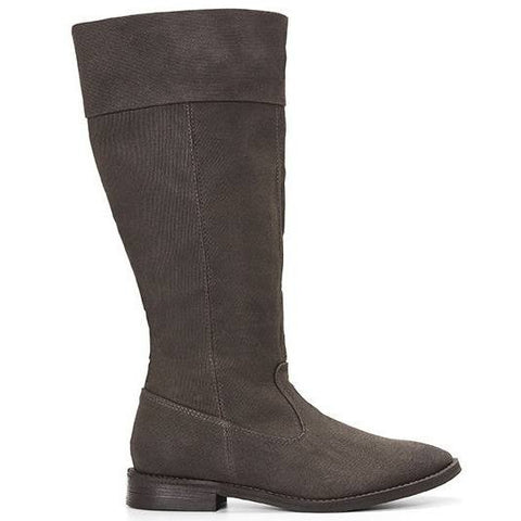 Ahimsa Shoes - vegan knee-high boot (espresso)