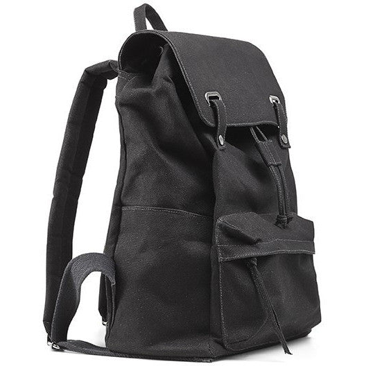 Ahimsa Bags - vegan backpacks 'Vintage backpack' (black)