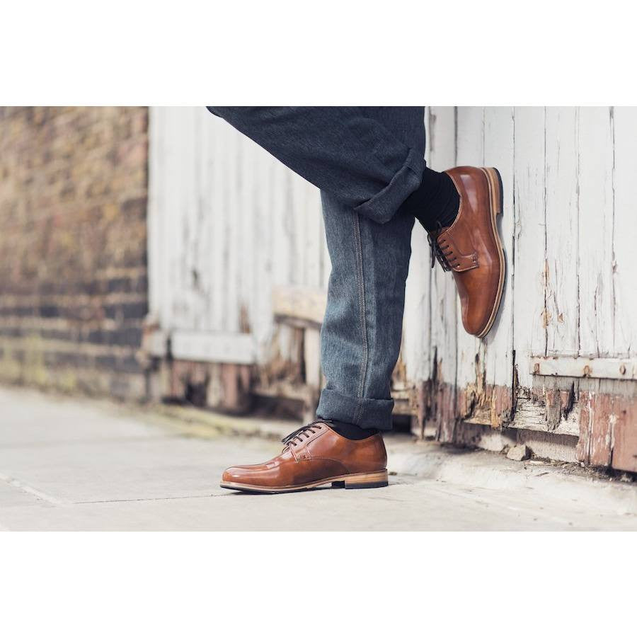 Bourgeois Boheme - vegan oxfords - Lewis (tan)
