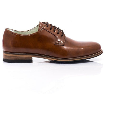 Bourgeois Boheme - vegan oxfords - Lewis (tan) - Vegan Style