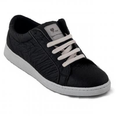 NAE - Basic (black pinatex) - vegan sneakers - Vegan Style
