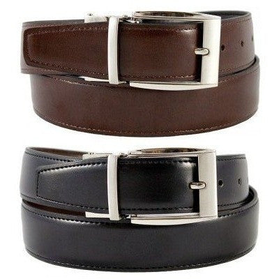 'Julian' Reversible Belt by The Vegan Collection - Vegan Style