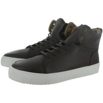 Novacas - vegan sneakers high tops - 'Booker' (brown) - Vegan Style