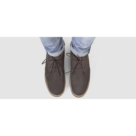 Ahimsa Shoes - Francisca - vegan Chukka boot (espresso)