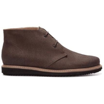 Ahimsa Shoes - Vegan Francisca Chukka Boot (Espresso) - Vegan Style