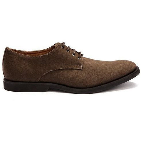 Ahimsa Shoes - Vegan Derby Shoes (Espresso) - Vegan Style