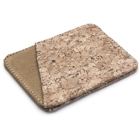Ahimsa Bags - vegan slim wallet (cork)