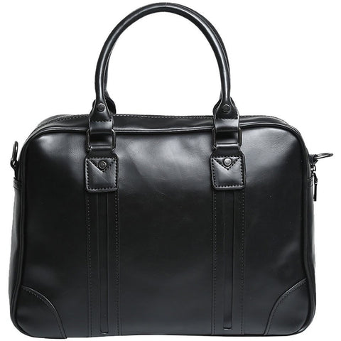 Tokyo Bags - Seto Signature Hand Carry Bag [Classic Black] - Vegan Style