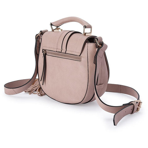 'Camilla' Vegan Saddle Bag (Dusk) by Thea & Theos
