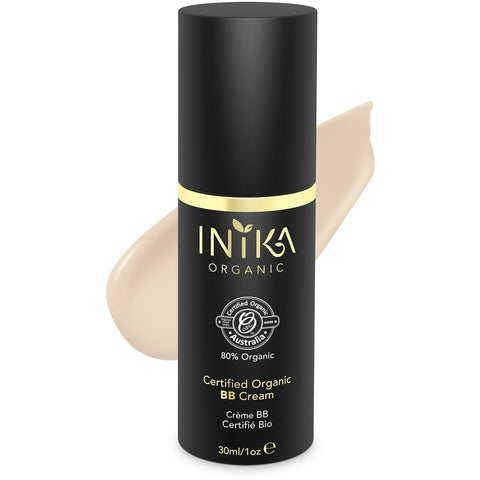 Inika Certified Organic BB Cream Foundation - Porcelain