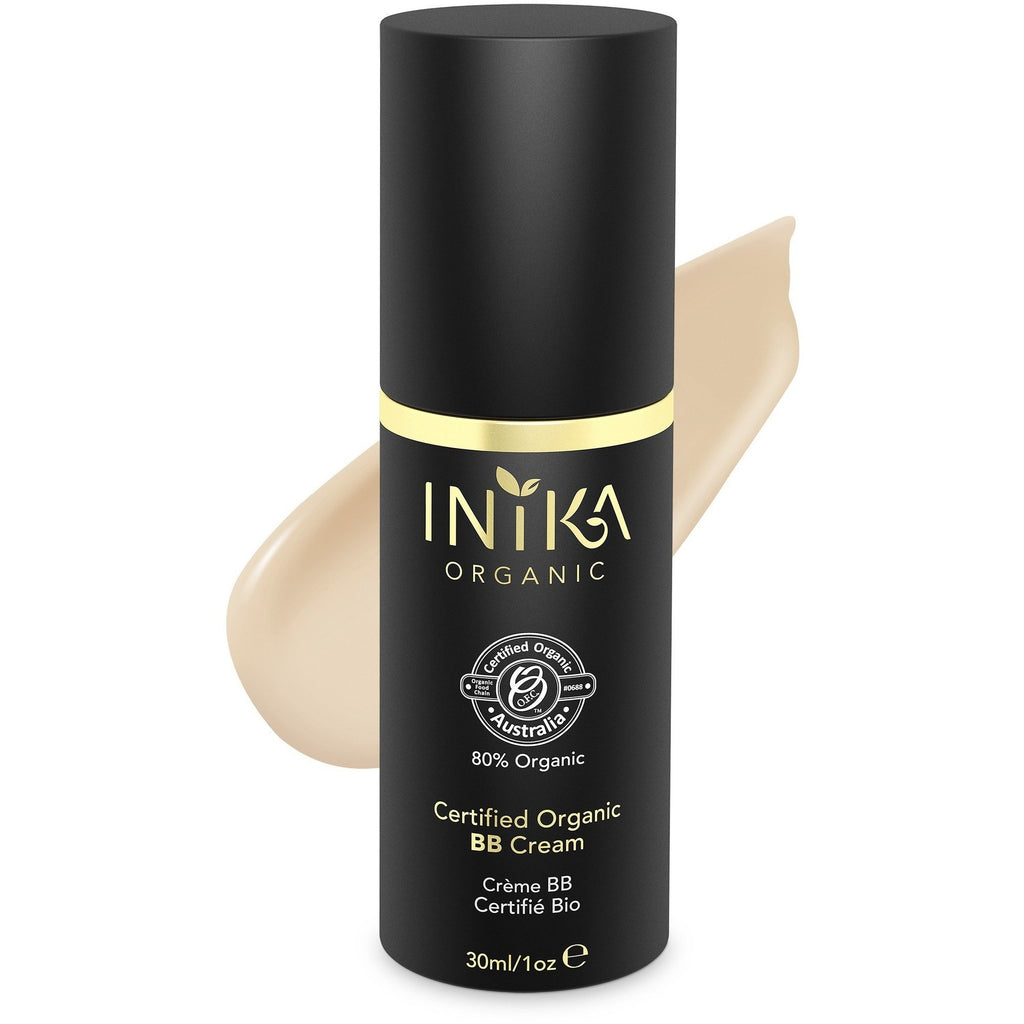 Inika Certified Organic BB Cream Foundation - Nude - Vegan Style