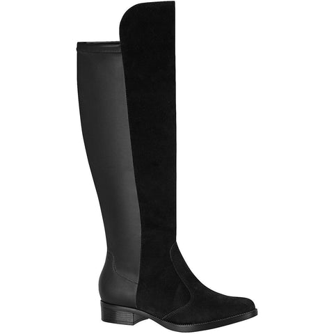 Vizzano black pull up boots