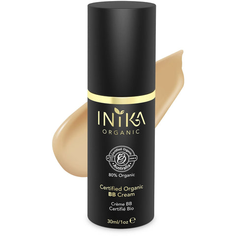 Inika Certified Organic BB Cream Foundation - Tan