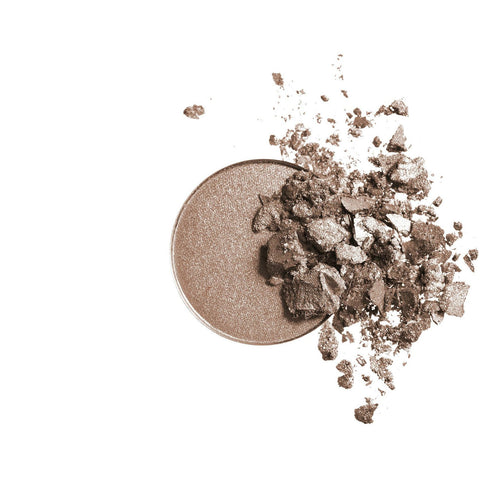 Inika Pressed Mineral Eye Shadow Duo - Gold Oyster - Vegan Style