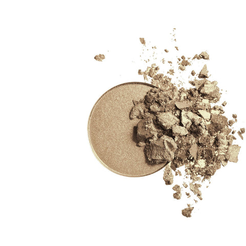 Pressed Mineral Eye Shadow Duo (Khaki/Desert) by Inika - Vegan Style