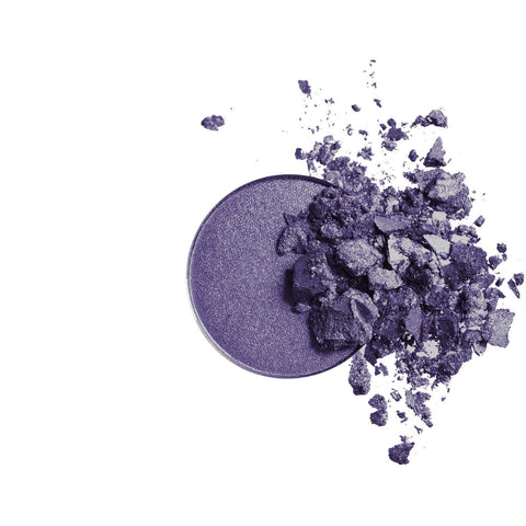 Pressed Mineral Eye Shadow Duo (Purple/Platinum) by Inika - Vegan Style