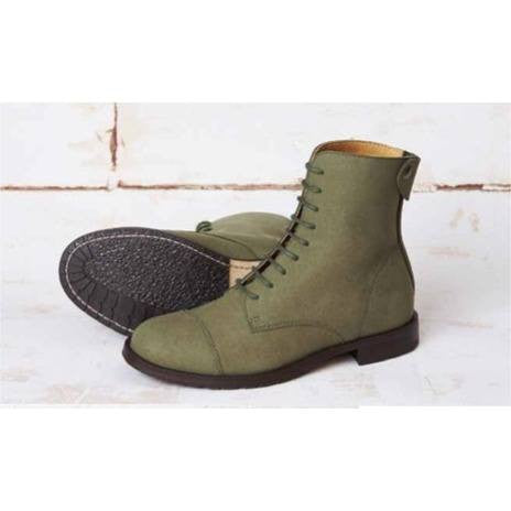 Good Guys don't Wear Leather - vegan boot - 'Norider' (khaki) - Vegan Style