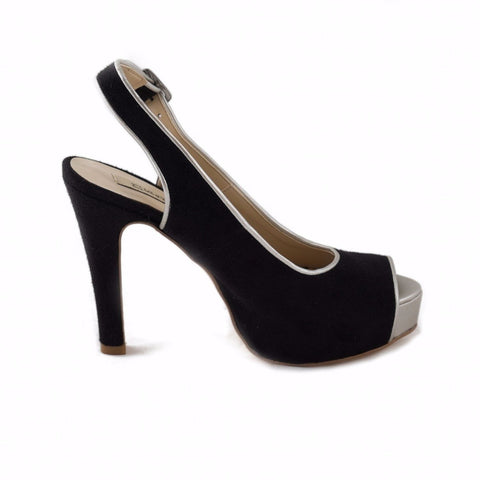 NAE (No Animal Exploitation) - vegan heel - 'Alexia' (black)
