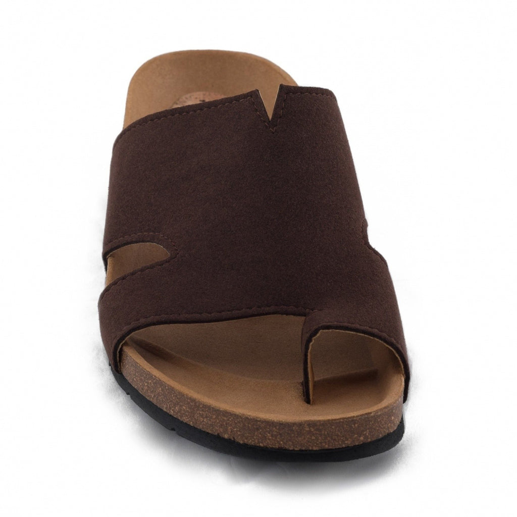 NAE (No Animal Exploitation)  - vegan sandal - 'Konfort' (brown) - Vegan Style