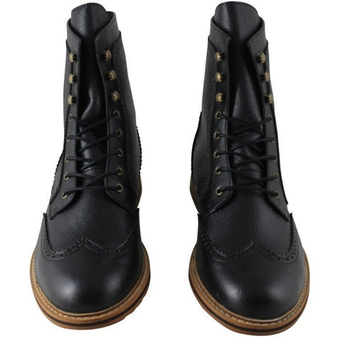 FAIR Shoes - vegan Brogue boot (black)