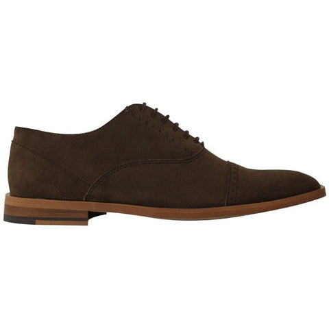 FAIR Shoes - vegan faux nubuck oxford (brown)