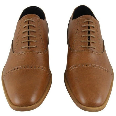 FAIR Shoes - Vegan Men's Oxford - tan